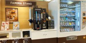 100円コーヒーの様子